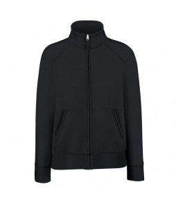 SWEAT MOLLENTON FEMME GRAND ZIP Coton/Poly