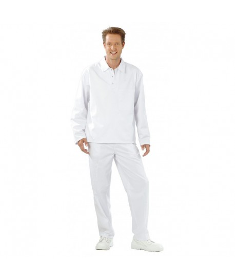 CHEMISE A ENFILER HOMME Poly/Coton