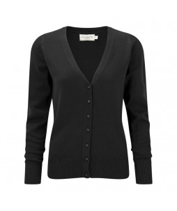 CARDIGAN COL V RUSSELL Cot/Acryl 275grs